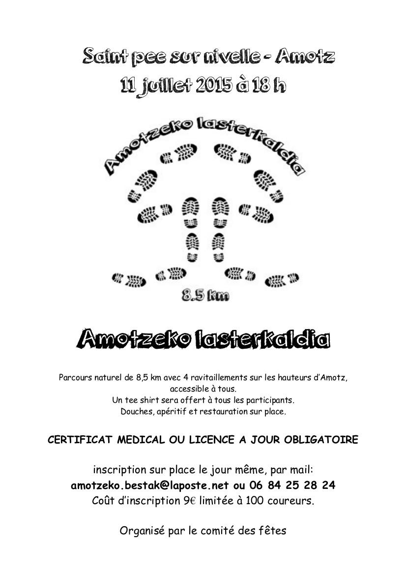 Amotzeko lasterkaldia – Foulées d'Amotz