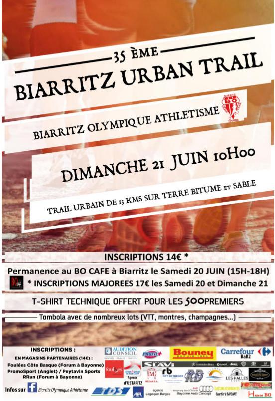 trail biarritz