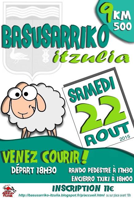 BASUSARIKO ITZULIA 2015