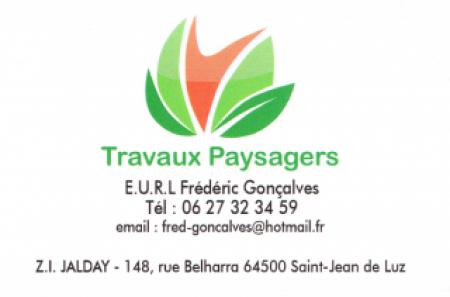 GONCALVES EURL TRAVAUX PAYSAGERS